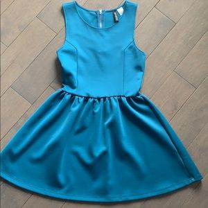 Turquoise A Line Dress by Divided H & M - XS